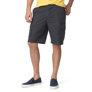 Chaps Classic Fit Textured Cargo Shorts, 40